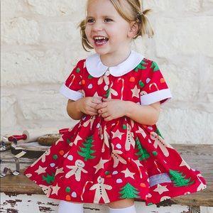 Eleanor Rose Gingerbread Cookies Cayden Dress